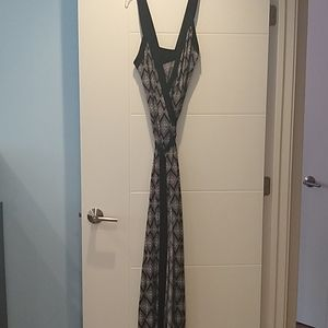 Banana Republic maxi Wrap dress